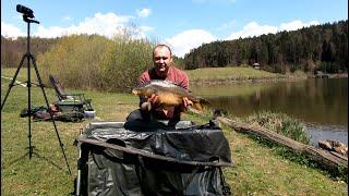 ЕСТЬ ПЕРВЫЕ КАРПЫ СЕЗОНА 2021 Карповая рыбалка на озере Градишко Словения