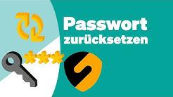 Wie Sie Ihr SecureSafe-Passwort zurücksetzen