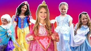 Disney Princess Dress Up Costumes Cinderella, Sleeping Beauty, Snow White