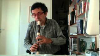 G. P. Telemann Fantasia 2 TWV 40 3 in c for alto recorder