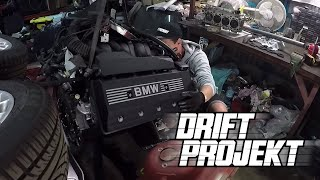 DRIFT PROJEKT - BMW e46 #3 - Silnik