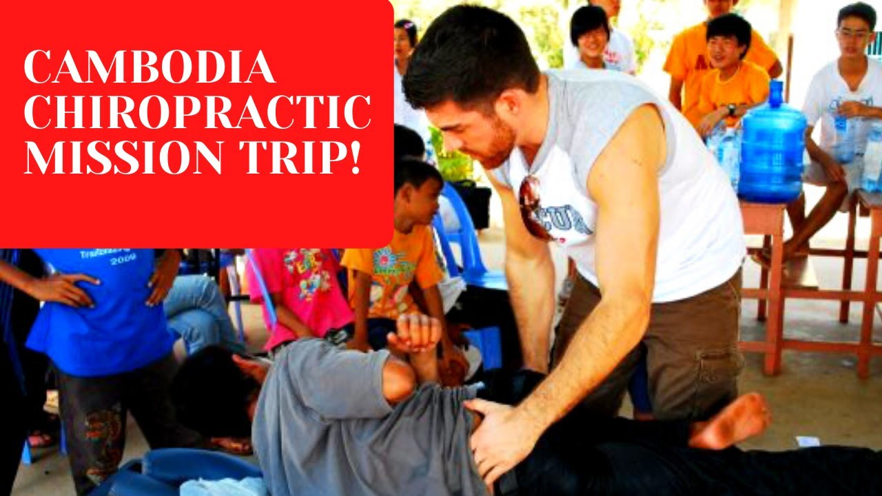 Metro Manila Chiropractor Provided Charitable Chiropractic Care Through His Non-Profit in Cambodia
