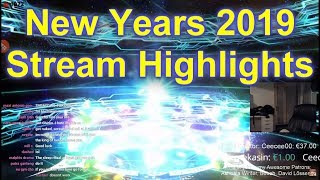 New Years 2019 Stream Highlights - Face Reveal, GSSR and More!
