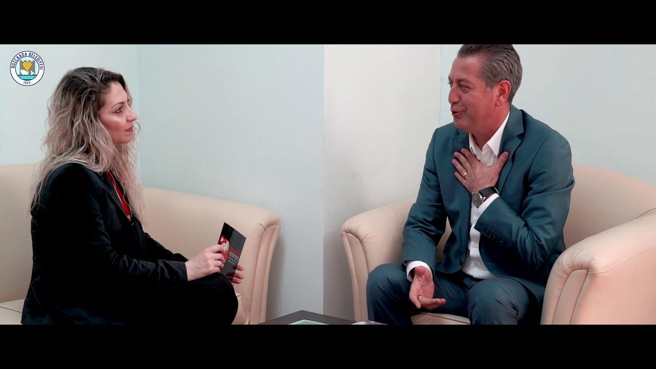 Bozcaada Belediye Başkanı Hakan Can Yılmaz Aktüel Dergisi İçin Röportaj