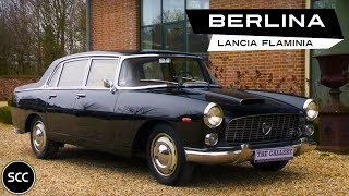 LANCIA FLAMINIA BERLINA 1963 - Modest test drive - Engine sound | SCC TV
