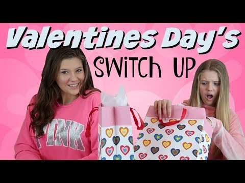 VALENTINES DAY SWITCH UP CHALLENGE || Taylor and Vanessa