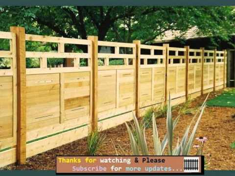 Fence Collection - Wood Fence Designs For Horses - YouTube