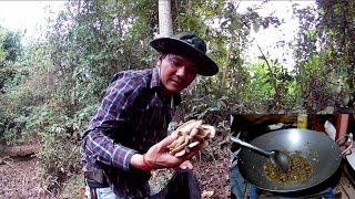 find food in wild & cooking wild food