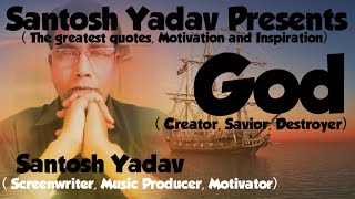 God - Creator - Savior - Destroyer // by Santosh Yadav