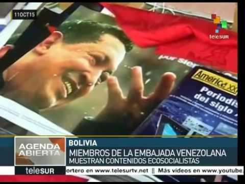 NOTICIERO BOLIVARIANA TELEVISION Bolivia :  Venezuela muestra ventajas del ecosocialismo
