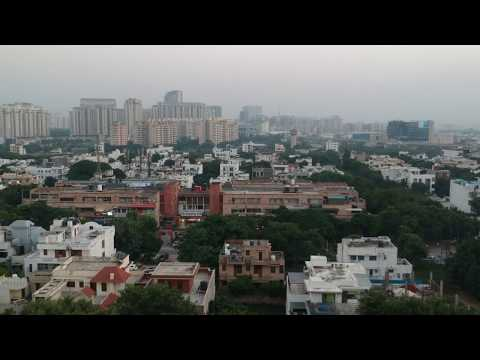 Delhi NCR Aerial view | DJI Spark | Gurgaon from the sky
