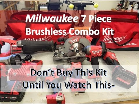 Milwaukee 7 Piece Cordless Tool Kit-Summary Review Up Front