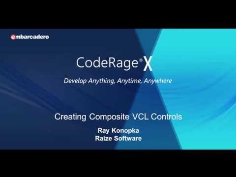 #21 - Composite VCL Controls Deep Dive: Manual Creation, Templates, Frames, and Sub-Components
