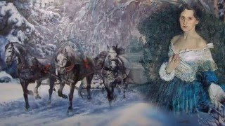 """Старинный русский романс """"В лунном сиянии снег серебрится"""" в исполнении Гульнары Исмаевой"""