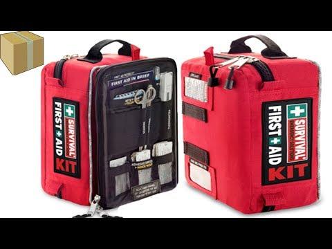 ערכת עזרה ראשונה הטובה בעולם! Survival first aid kit ! Emergency Solutions!