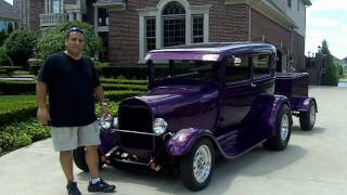 1929 Ford Model A Custom Streed Rod Classic Muscle Car for Sale in MI Vanguard Motor Sales