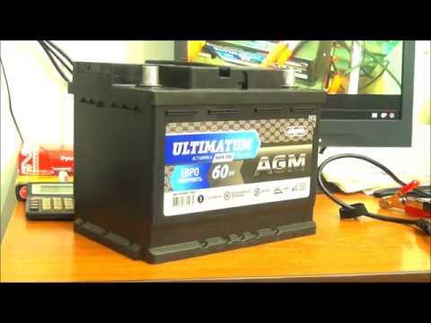 Аккумулятор АКОМ   ULTIMATUM AGM  Мифы и  байки из склепа .
