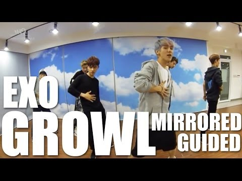 EXO - Growl | Guided & Mirrored Dance Practice
