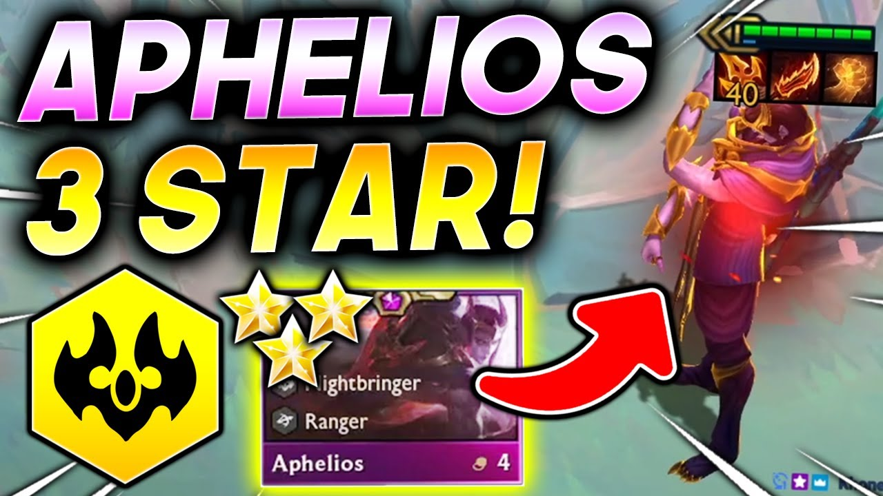 Download *HUGE 3 STAR ⭐⭐⭐ APHELIOS!* - TFT SET 5.5 Guide Teamfight Tactics Best Ranked Comps Strategy 11.19