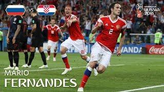 MARIO FERNANDES Goal – Russia v Croatia  – MATCH 59