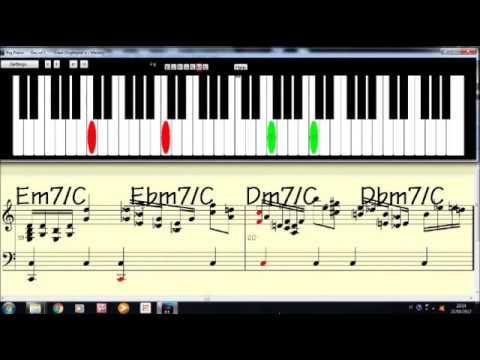 Moon River - piano ballad with score