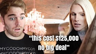 jeffree star making shane dawson feel poor for 4 minutes straight