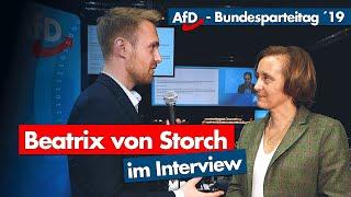 AfD-Parteitag | Beatrix von Storch im Interview