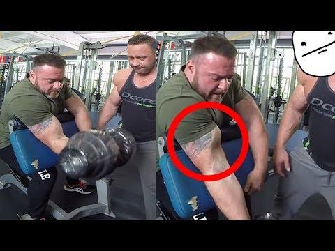 ROTURAS Y Cómo EVITARLAS + Bíceps Larry Wheels...