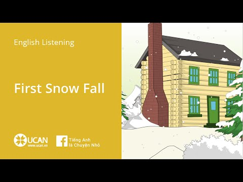 Learn English Listening | Beginner - Lesson 1. First Snow Fall