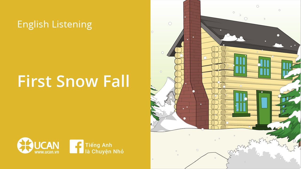Learn English Via Listening | Beginner – Lesson 1. First Snow Fall