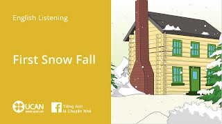 Learn English Via Listęning | Beginner - Lesson 1. First Snow Fall