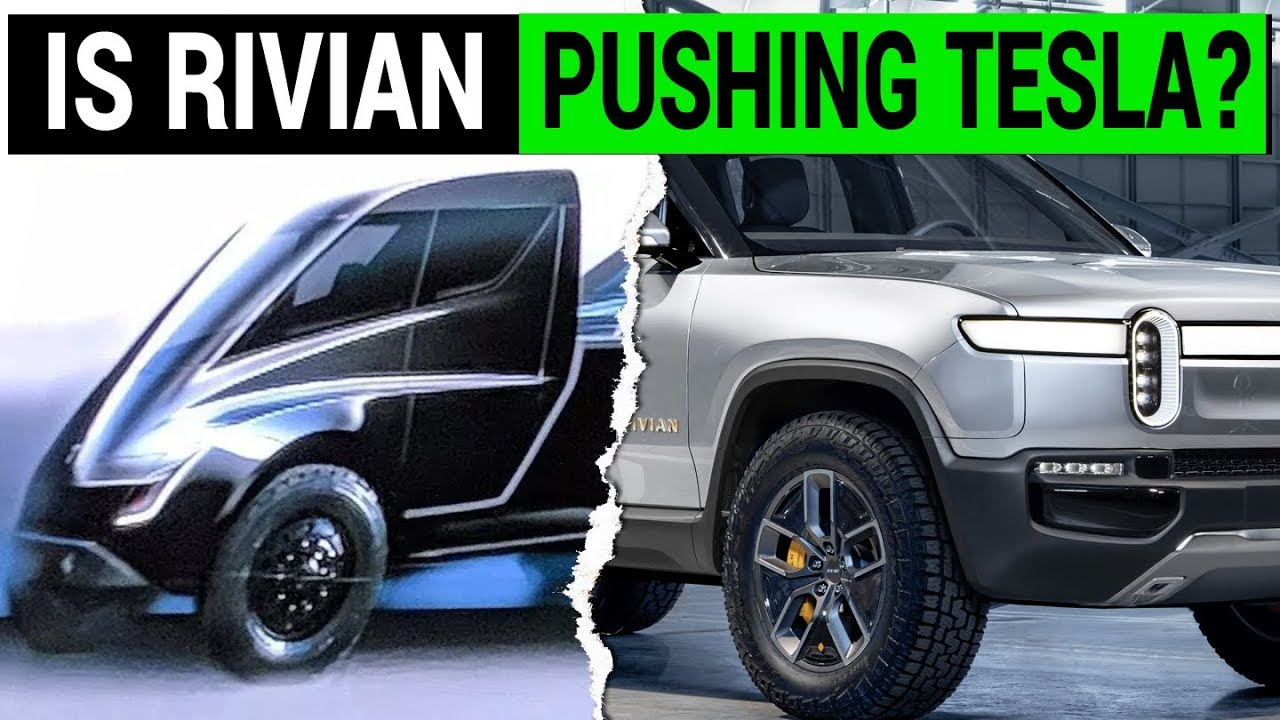 Is Rivian Pushing Tesla To Unveil Its Electric Pickup Truck Sooner? - YouTube