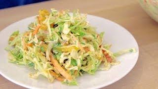 Asian Inspired Coleslaw Recipe!