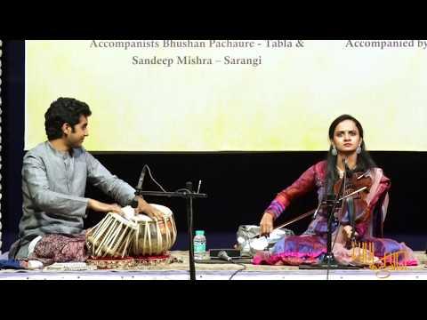 Raga Shyam Kalyan (Madhyalay Ektaal) - Nandini Shankar & Ishaan Ghosh - Indian Violin - Part 2