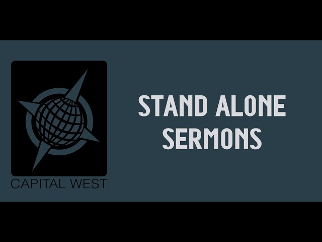 Stand Alone Sermon:  VBS Week