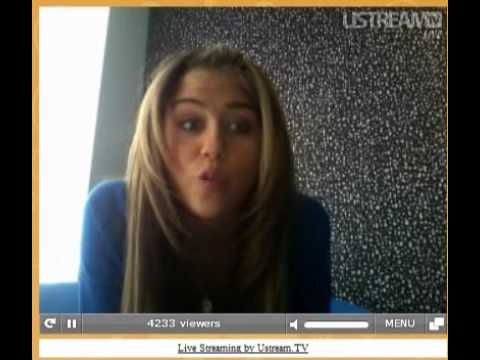 Miley Cyrus Live Chat