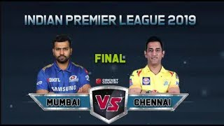 LIVE IPL 2019 Final: CSK VS MI Final Match IPL Live Stream | LIVE Score And Commentary |Ashes Cric