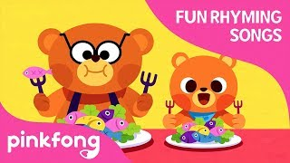 Daddy Bear and Baby Bear | Fun Rhyming Songs | Pinkfong Songs for Children