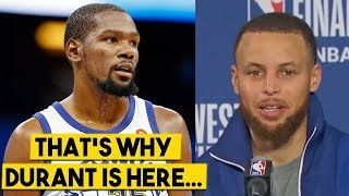 Curry Explains Why They BLEW Game 4,
