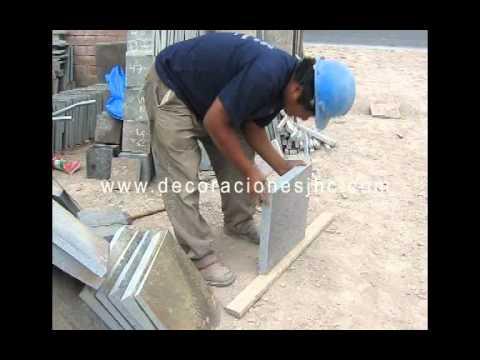 Decoraciones jhc lajas y piedras al por mayor youtube - Lajas de piedra ...