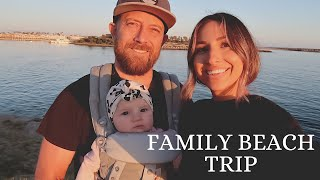 FIRST FAMILY WEEKEND GETAWAY AT THE BEACH WITH A BABY!! | Hillary Alex