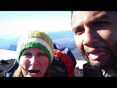 Climbing Volcano Villarica