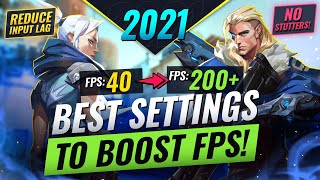 The ULTIMATE FPS BΟOST GUIDE! Best Settings For MAX FPS, REDUCED Input Lag, & MORE! - Valorant