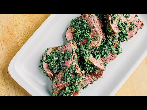 How To Make Beef Tenderloin With Chimichurri From El Che Bar
