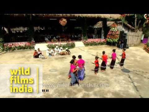 Reang community from Tripura presents Hojagiri dance in Mizoram