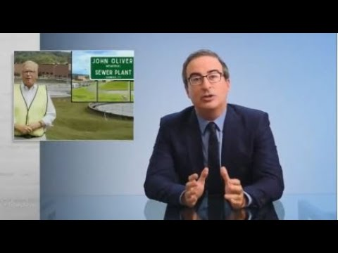Last Week Tonight - The John Oliver Memorial Sewer Plant is Here! (Part 1)