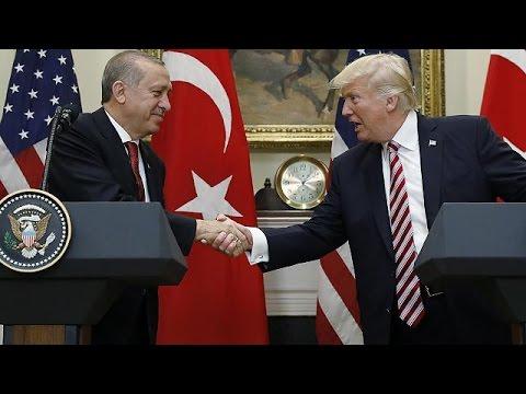 Erdogan bei Trump in Washington