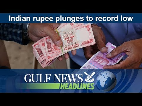Indian rupee plunges to record low - GN Headlines