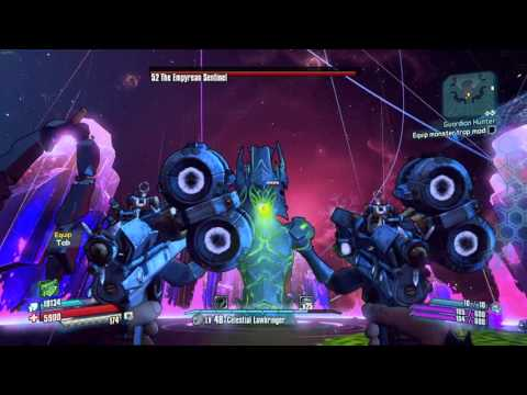 """Borderlands The Pre Sequel: The Sentinel Dropping Two """"ZX-1""""  """