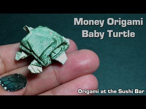 Dollar Origami Turtle Instructions Dollar Bill Origami Moneygami